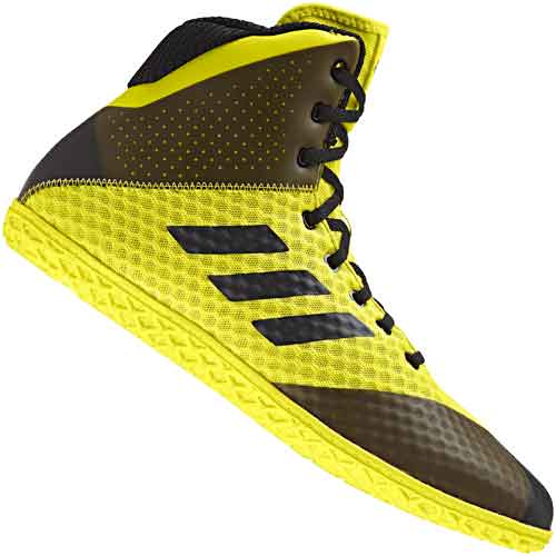d67caa0eef33a6 adidas Mat Wizard 4 Youth Kids Wrestling Shoes Yellow