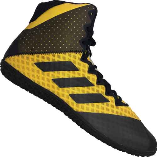 adidas Mat Wizard 4 Wrestling Shoes Gold