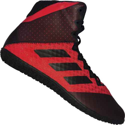 adidas Mat Wizard 4 Wrestling Shoes Red