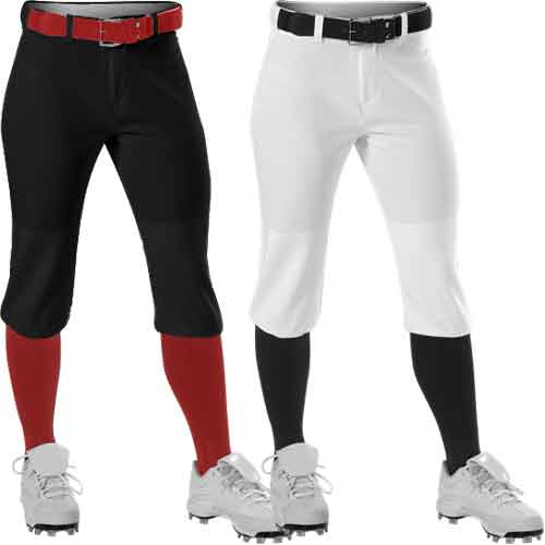 Alleson Athletic Women/'s Fastpitch Knicker Pants A00070