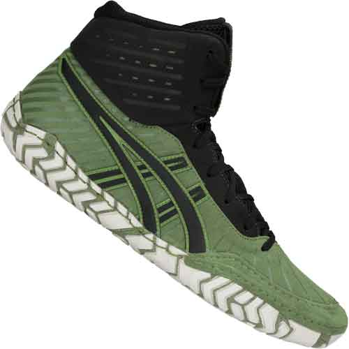944d70df922e ... Asics Aggressor 4 Wrestling Shoes - Green ...