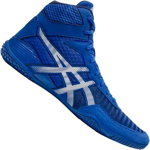 Asics Matcontrol 2 Wrestling Boots Shoes - Blue