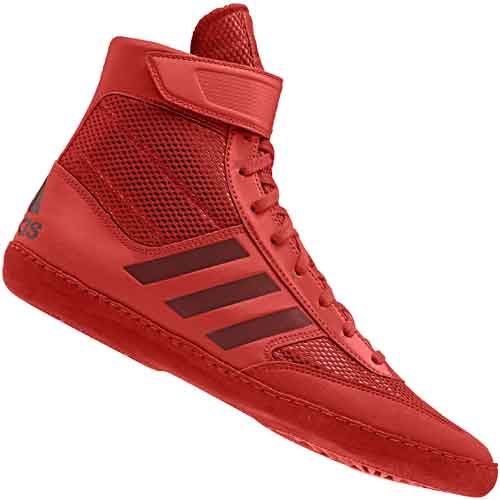 wholesale dealer 6fc8c ab618 adidas Combat Speed 5 Wrestling Shoes - Red ...
