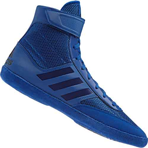 adidas Combat Speed 5 Wrestling Boots Shoes Blue