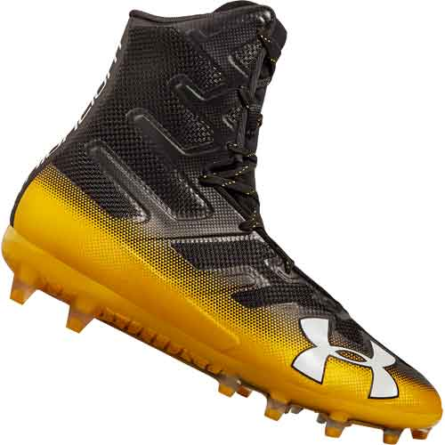 Under Armour Highlight Mc Football Cleats Black Gold