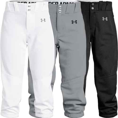 d44cdf7692 Under Armour Youth Girls Softball Pants ...