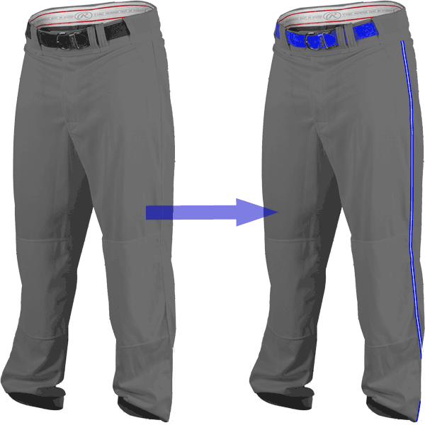 Rawlings PRO150 Open Bottom Baseball Pants