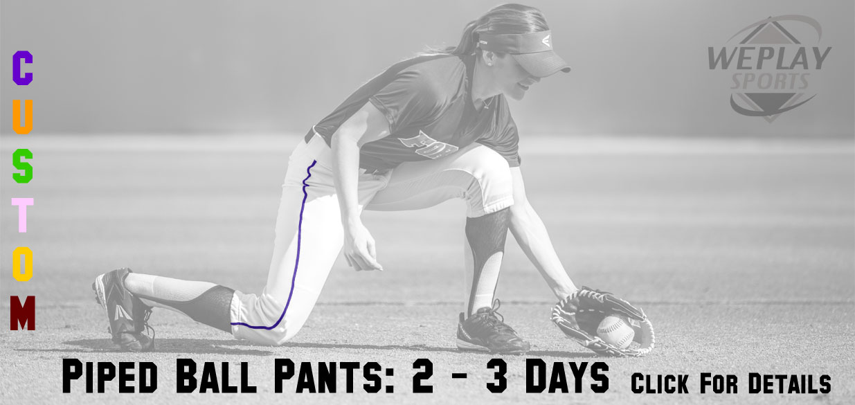 Custom Piped Baseball Pants