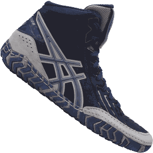Asics Aggressor 3 Wrestling Shoes - Indigo Blue