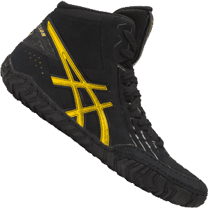 Asics Aggressor Wrestling Shoes - Black