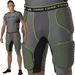 Alleson Athletic Core Hexagon Integrated 5 Pad Boys Football Girdle