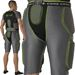 Alleson Athletic Core Hexagon Integrated 5-Pad Kids Football Girdle - Back