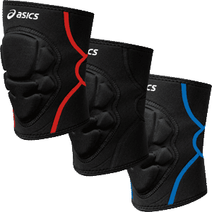 Asics Conquest Wrestling Sleeve Knee Pad