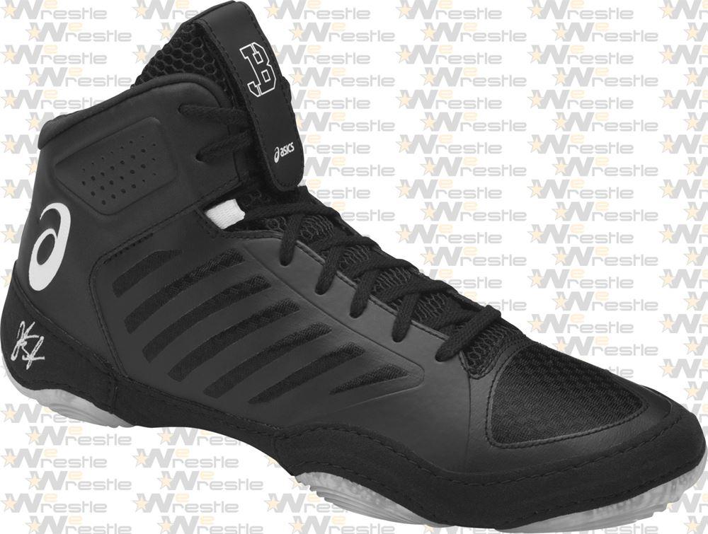 67fee62177c1 Serradial Traction Pods  Asics JB Elite 3 Youth Wrestling Shoes - Black  Asics  Jordan Burroughs JB Elite 3 Wrestling Shoes - Seamless Upper ...