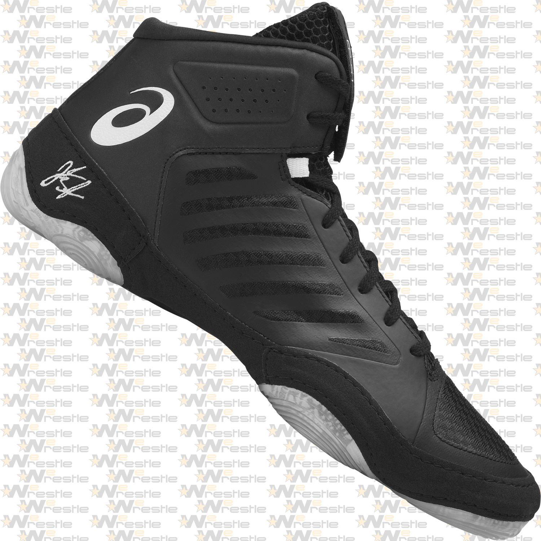 Asics JB Elite 3 Wrestling Shoes Black