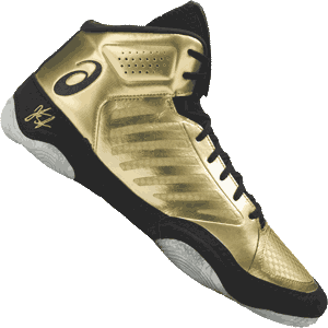 Asics JB Elite 3 Wrestling Shoes - Rich Gold