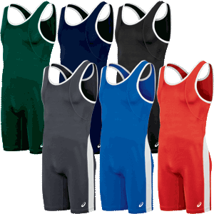 Asics Restrained Wrestling Singlets - Available in 6 Colors