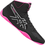 Asics Snapdown 2 Wrestling Shoes - Black / Pink