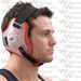 Cliff Keen Twister Wrestling Headgear - Translucent / Red / Black