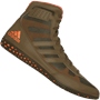 adidas Mat Wizard David Taylor Wrestling Shoes - Olive Green
