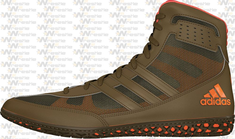 cantante triunfante prima  adidas Mat Wizard David Taylor Wrestling Shoes Olive Green