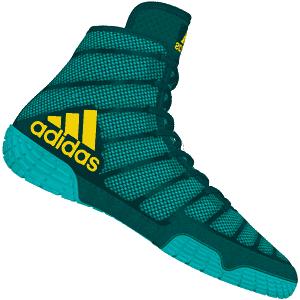 in stock afbf5 af25b adidas adizero Varner Wrestling Shoes - Aqua