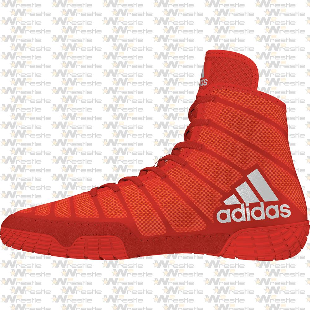 hacha escucho música para ver  adidas adiZero Varner Wrestling Shoes - Red