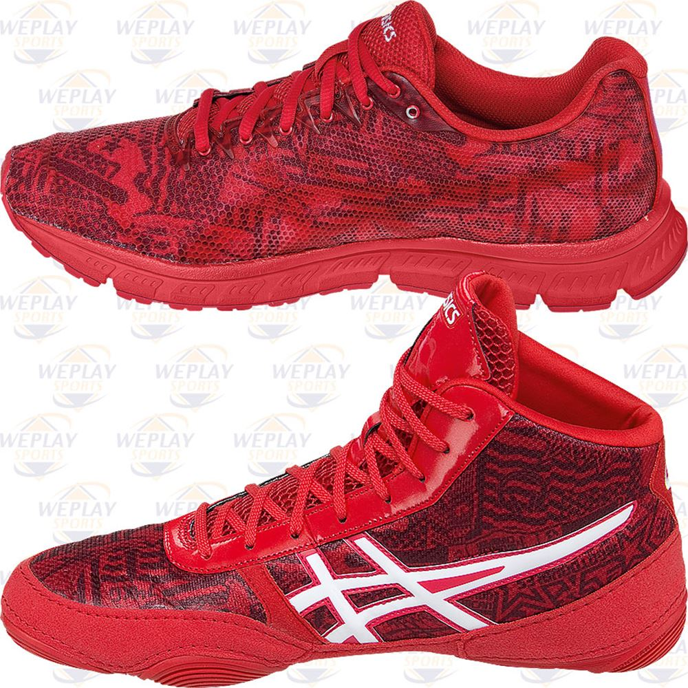 79bf1ce46234 ... ASICS All I See Is Gold Jordan Burroughs Elite Training and Wrestling  Shoes ...