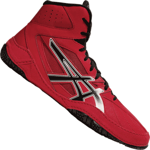 Asics Mat Control Wrestling Shoes - Red