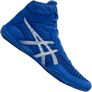 Asics Matcontrol 2 Wrestling Shoes - Blue