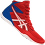 Asics Matflex 6 GS Kids Wrestling Shoes Red Blue