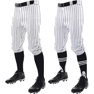 Champro Sports Triple Crown Knicker Pinstripe Youth Baseball Pants
