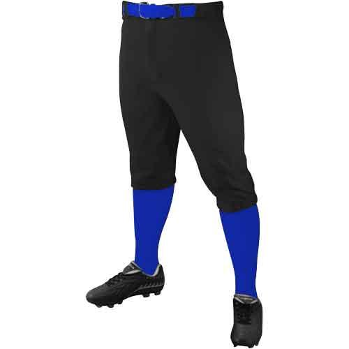 Champro Adult Triple Crown Knicker Baseball Pants w Piping Men's Adult Small