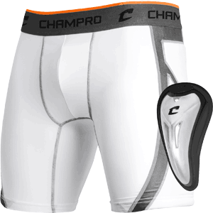 Champro Sports Wind Up Sliding Shorts w. Cup