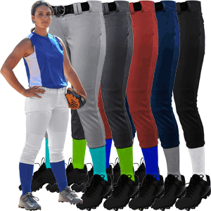 CHAMPRO Sports BP11 Tournament Womens Fastpitch Softball Pants