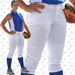CHAMPRO Sports BP11 Girls Youth Fastpitch Softball Pants - White