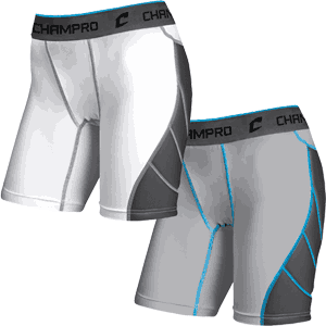 CHAMPRO Sports Windmill Womens Softball Sliding Shorts