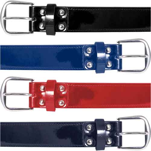 Champro Sports Patent Leather Baseball Belts