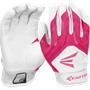 Easton HF3 Hyperskin Fastpitch Batting Gloves - Pink
