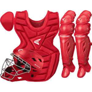 Easton M7 Catchers Gear Box Set - Youth Red