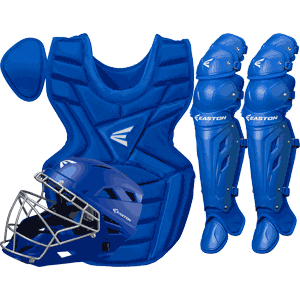 Easton M7 Catchers Gear Box Set - Youth Royal Blue