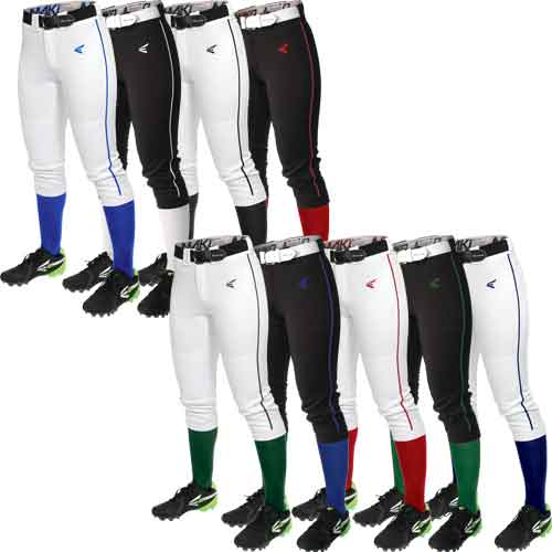 Easton Mako Womens Piped Fastpitch Softball Pants