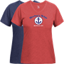 Harbors Edge Marblehead Womens V-Neck T-Shirt