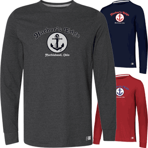 Marblehead Harbors Edge Long Sleeve T-Shirt