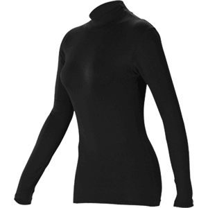 Long Sleeve Mock Neck Base Layer Top