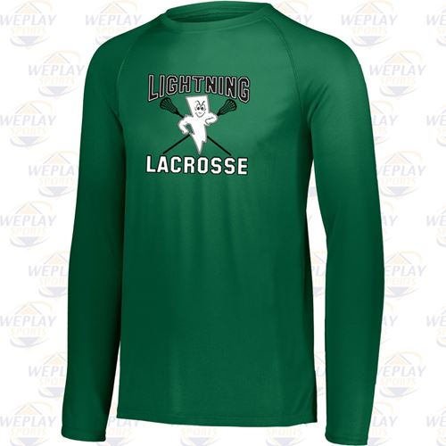 Lightning Lacrosse Attain Long Sleeve Wicking Youth T-Shirt