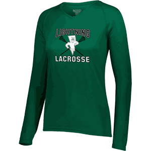 Lightning Lacrosse Attain Womens Long Sleeve Wicking T-Shirt