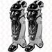 Mizuno Samurai Catchers Leg Guards G3 - Black
