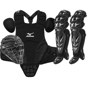 Mizuno Samurai Baseball Catchers Gear Set - Intermediate Size