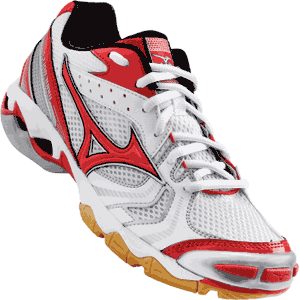 Mizuno Lightning Bolt 2 Womens Volleyball Shoes - Red